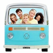Campervan Photo Frame Retro Picture Holiday Fun Novelty Gift