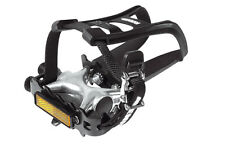 Raleigh Avenir Alloy Mountain Bike Pedal with Toe Clip And Straps RRP £19.99