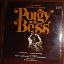 HIGHLIGHTS FROM PORGY AND BESS - LP - SEALED - HOUSTON GRAND OPERA - GERSHWIN