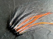 Scandi Sunray Salmon Tube Fly Collection x 6 Tubes FREE Stinger Hooks Included