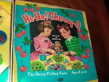 Hi-Ho! Cherry-O Vintage Cherry Picking 1960 Whitman Board Game