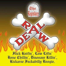LEGENDARY RAW DEAL Flick Knifin' Low Lifin' CD Paul Fenech Meteors psychobilly