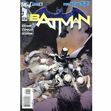 Batman #1 - First Print - Nov 2011 - New 52 [Paperback, DC Comics] NEW NM