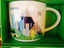 Starbucks Coffee Mug DENVER You Are Here Collection from 2015 NWT & box