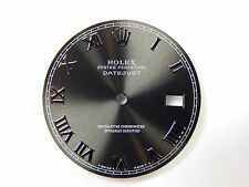 Rolex Mens Datejust Stainless Steel Gray Color Roman Numeral Dial