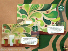 """STARBUCKS """"How To Make Coffee"""" gift card Germany - Set of 2 cards - 2 Karten"""