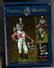 ROMEO MODELS RM 54-048 - KINGDOM OF NAPLES 6th Rgt RIFLES DRUMMER - 54mm METAL