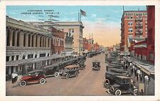 1932 Stores Early Cars Chaparral St. Corpus Christi TX post card