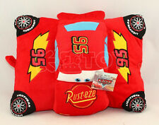 New Disney Pixar Cars Lightning McQueen Cushion Pillow Soft Plush Toy Doll