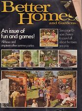 Better Homes and Gardens June 1970 An Issue of Fun and Games w/ML 011117DBE