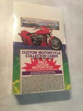 Custom Harley Davison Etc. Motorcycle Collector Cards New In Sealed Box 36 Packs