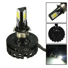 12W-18W Motorcycle LED Headlight H4 Bulb Hi/Lo Beam Head Lamp for Harley New