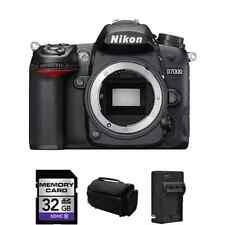 Nikon D7000 16.2 MP Digital SLR Camera (Body Only) + 32GB, Case, AC/DC Charger +
