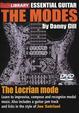 LICK LIBRARY The LOCRIAN MODES Learn to Play Joe Satriani Improvise GUITAR DVD