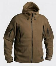 HELIKON TEX PATRIOT HEAVY FLEECE Outdoor hooded Jacket Jacket COYOTE TAN S