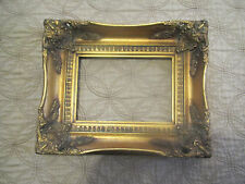 Gold Gesso Picture Frame