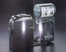 "Braun Professional rayo F 900/F 910 batería-box 8 X ""baby"", triggerspannung 6,8v"
