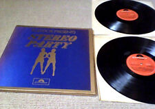 PETER THOMAS JAMES LAST LALO SCHIFRIN JOHN SCOTT Polydor Stereo Party UK 2LP Set