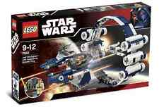 STAR WARS Lego 7661 Jedi starfighter Ship hyperdrive ring KIT FISTO minifig NEW