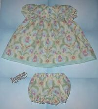 """Handmade Doll Clothes for 23"""" - 24"""" Baby Dolls - """"My Special Girl"""" Dress Set"""