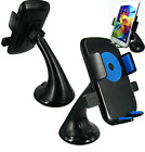 Car Cell Phone Holder Mount Cradle Stand 360° Rotating Dash Windshield Suction