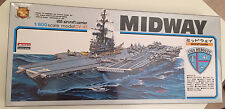 1/800 Scale Arii Models Aircraft Carrier USS Midway CV 41! Rare! Please Read WOW