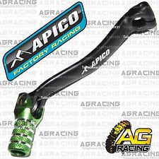 Apico Black Green Gear Pedal Lever Shifter For Kawasaki KX 450F 2013 Motocross