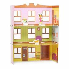 NEW Build Your Own Dollhouse Kit Home Sweet Home Pink Paper Doll House Age 5+