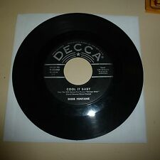 ROCKABILLY 45 RPM RECORD - EDDIE FONTAINE - DECCA 30042