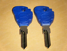 Buell Key Blanks (2) Two Keys For  Blast Firebolt Lightning Ulysses and More