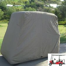 4 PASSENGER GOLF CART COVER FITS EZ GO Club Car , Eagle Taupe Storage US M