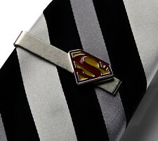 Superman Tie Clip - Tie Bar - Tie Clasp - Business Gift - Handmade - Gift Box