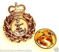 Royal Navy Chief Petty Officer Lapel Pin Badge