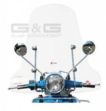 Screen Windscreen Faco Clear glass High Piaggio Vespa PX 80 125 200