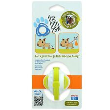 The Fifth Paw  Hands Free Poop Bag Carrier Leash Attachment Lime