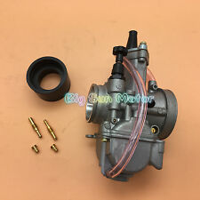 Carburetor 34mm OKO KOSO 2-Stroke Racing Flat Side the OEM PWK Carb W/ Power Jet