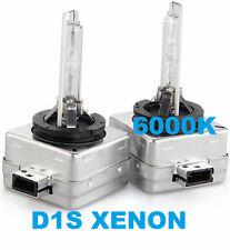 Coppia lampade bulbi universali XENO ricambio D1S 6000K. Xenon bianco. Lampadine