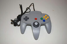 OFFICIAL GREY CONTROLLER Nintendo 64 For N64 System - TESTED!