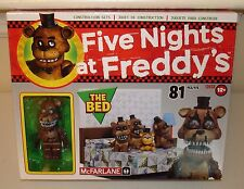 Five Nights at Freddy's Construction Set The Bed FREDDY  McFarlane Toy 81 piece