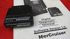 DDT Mercury Diagnostic cartridge Mercruiser 1.0 for scanner software manual