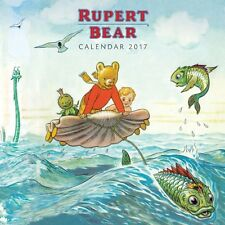 Rupert L'ours Mini Calendrier Mural 2017 ~ Flame Tree Art calendrier ~ NEUF