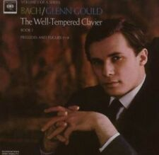 Bach: The Well-Tempered Clavier Book I - Glenn Gould (2007, CD NEU)