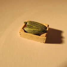 Marrows in a crate ~ 24th scale ~ dollhouse miniature food