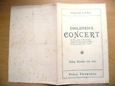 CHILDREN'S CONCERT 1916 by Pupils of Miss Fearn, 15th December