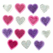 Jesse James Buttons ~ Dress It Up ~ GLITTER HEARTS 2262 ~ Sewing ~ Crafts