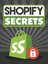 Learn The Secrets of Running Your Own Shopify Store- 78 Page eBook on CD