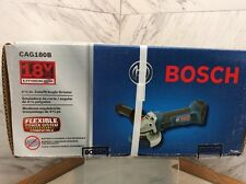 "Bosch 18V 18 Volt Lithium Ion Cordless 4 1/2"" Angle Grinder CAG180 CAG180B NEW"