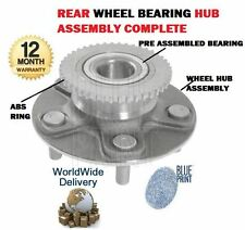 FOR NISSAN PRIMERA P12 2001-2006 NEW REAR WHEEL BEARING + HUB ASSEMBLY + ABS