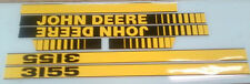John Deere 3155 Hood Decals