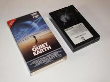 Betamax Video ~ The Quiet Earth ~ Bruno Lawrence ~ *USA NTSC* ~ CBS FOX Video
